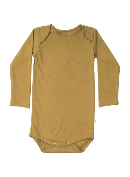 Minimalisma - body NORGE - 100% organic cotton - golden leaf - 1m tm 3 jaar