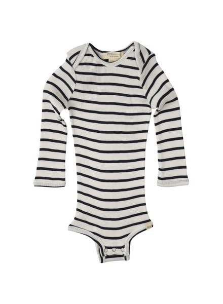 Minimalisma - silken BONO romper - 70% silk - sailor - 1 m to 3 years