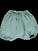 Poudre Organic - bloomer VERVEINE - 100% organic cotton - aqua blue - 56 to 98