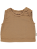 Poudre Organic - tanktop LAURIER - 100% organic cotton - brown sugar  - 12m to 6y