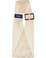 Tonga mesh slings - verstelbare babydrager Tonga® Fit / mesh sling - biologisch katoen - ecru - tm 15 kg