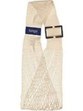 Tonga mesh slings - adjustable baby carrier Tonga® Fit / mesh sling - organic cotton - ecru - up to 15 kg
