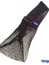 Tonga mesh slings - verstelbare babydrager Tonga® Fit / mesh sling - katoen - zwart - tm 15 kg