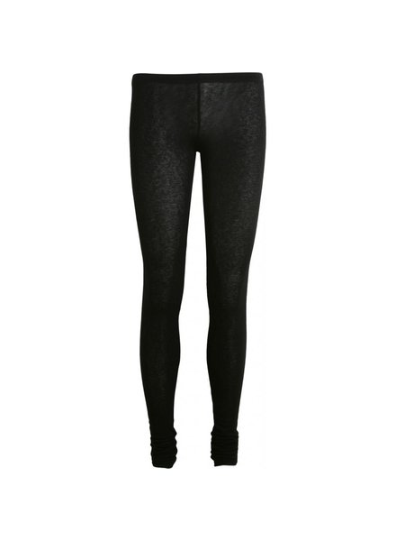 GAI + LISVA - ALIA leggings - woolmix with viscose & elsthane - black - M to XL