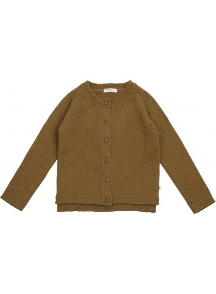 Minimalisma - wool cardigan KOBENHAVN - 100% alpaca - autumns leaf - 18m to 6 years
