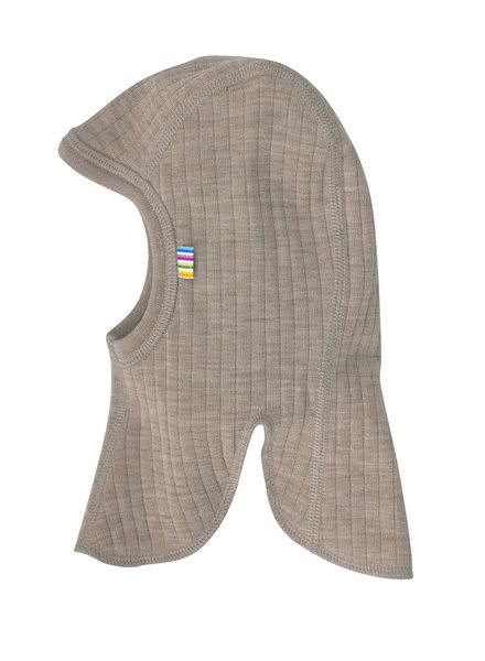 JOHA woolen balaclava - 100% merino wool - sesame beige - 45 to 50 cm