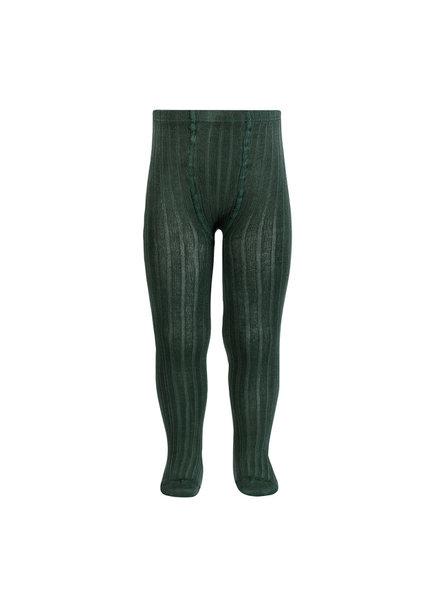Condor katoenen maillot - brede rib - dennen groen - 50 tm 180 cm
