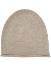 HVID woolen beanie EFA - 100% merino wool - sand - 1 to 6 years