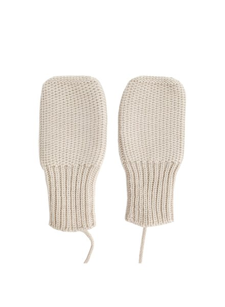 HVID wool mittens MITTENS - 100% merino wool - off white - 6m to 2 years