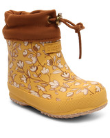 BISGAARD eco thermo boot BABY - wool lined rain boot - natural rubber - 20 to 27