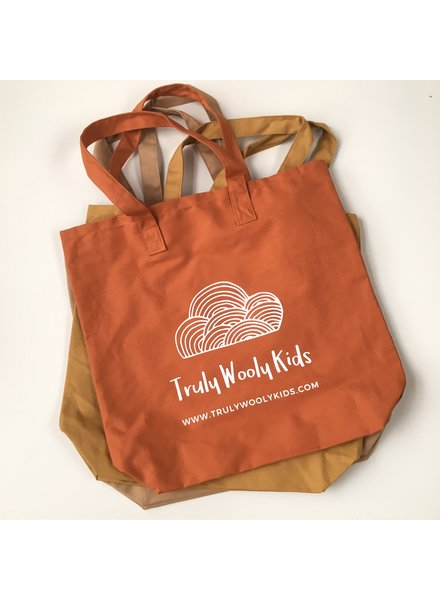 Truly Wooly Kids Truly Wooly Kids - XXL canvas shopper - 100% katoen - brick