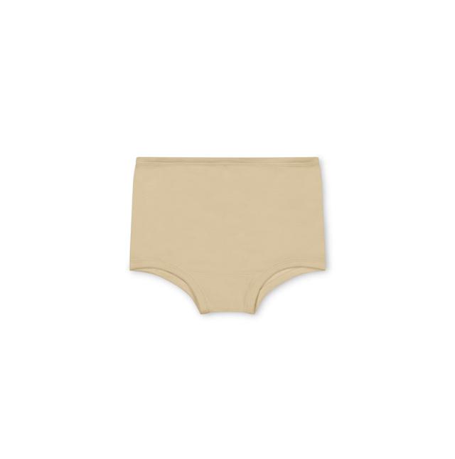Matona basic undies - 100% organic waffle cotton/naturally  dyed– cream - 2  to 6 years