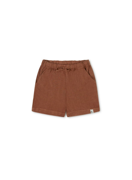 Matona ARKIE shorts - 100% linnen- sienna - 2 to 10 years