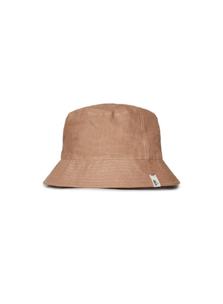 Matona sun hat/ bucket hat - 100% linen - tan - baby and child