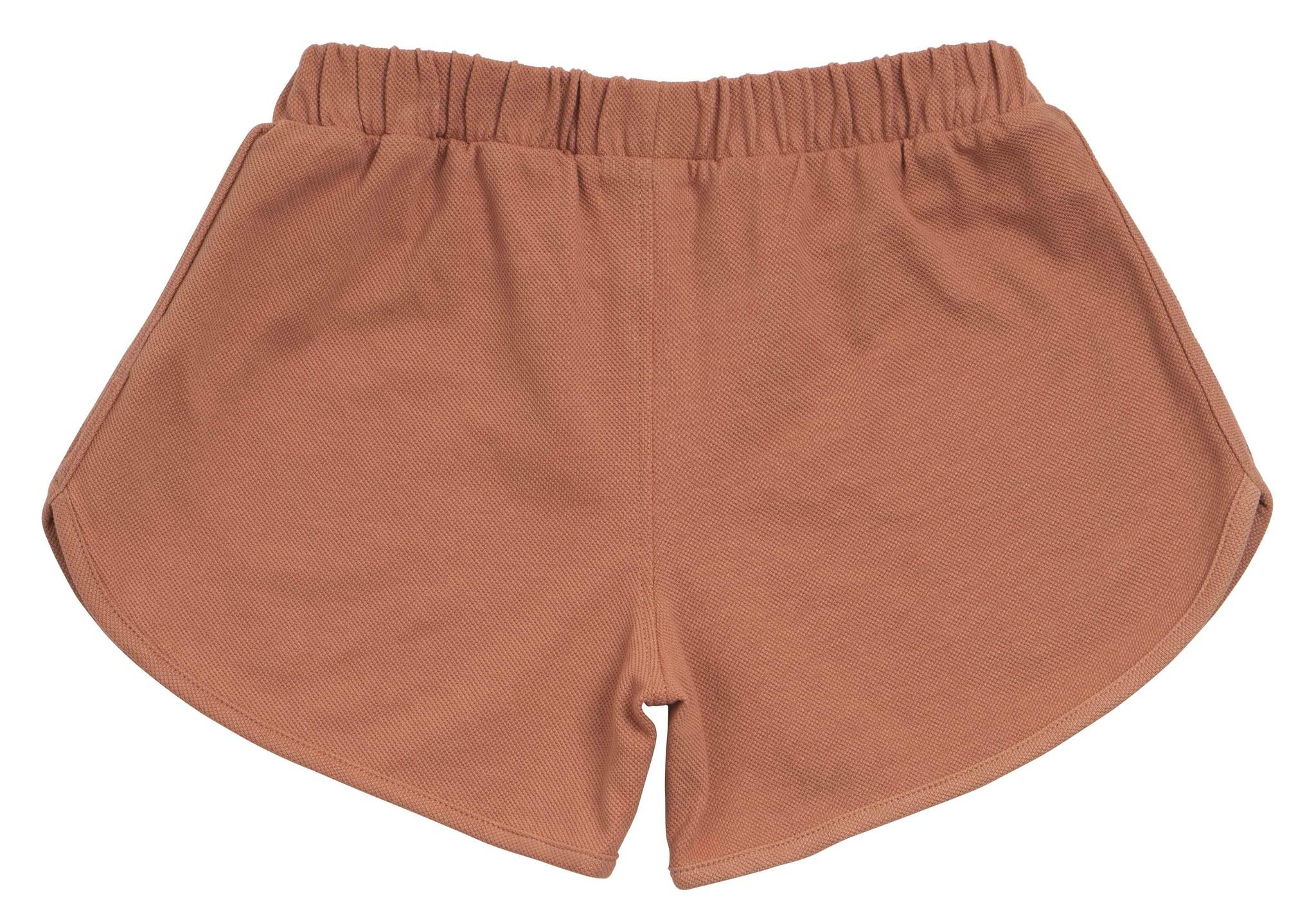 Minimalisma shorts ELSPA- 100% organic  cotton - tan - 2 to 12 Y
