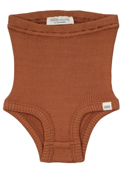 Minimalisma bloomer BOBBI - 70% silk/30% cotton - rooibos - 1m to 3Y