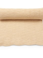 Konges Slojd baby- and children's blanket POINTELLE- 100% organic cotton - dusty rose - one size / 100 x 70 cm