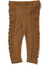 Konges Slojd pants CABBY - 100% organic cotton - cinnamon brown - 6m to 8 yrs