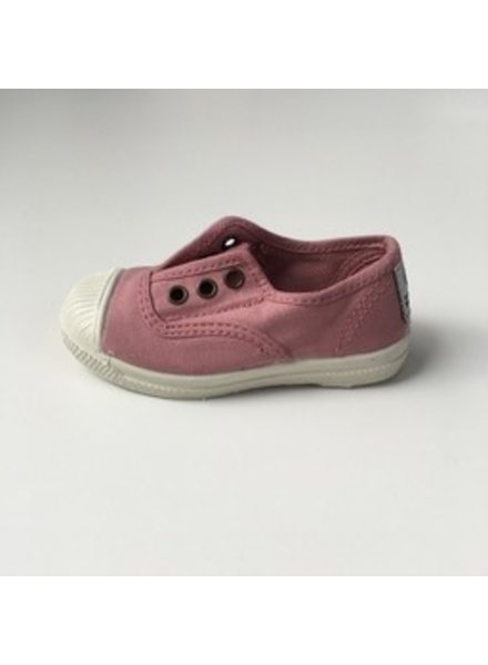NATURAL WORLD eco kids sneakers LAVANDA - organic cotton  - vintage pink - 21 tm 34