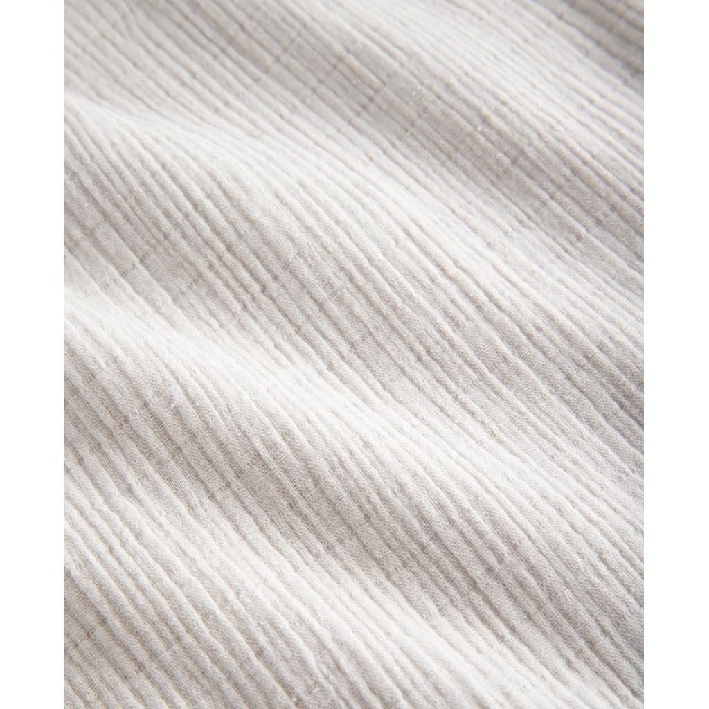 GAI + LISVA dames broek SERENA - 100% crepe katoen - off white - 36 tm 42
