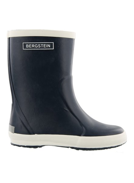Bergstein flexible rain boot child - 100% natural rubber - dark blue - 19 to 34