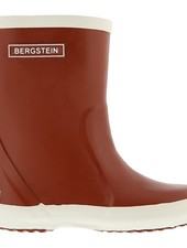 Bergstein flexible rain boot child - 100% natural rubber - sienna red - 19 to 34