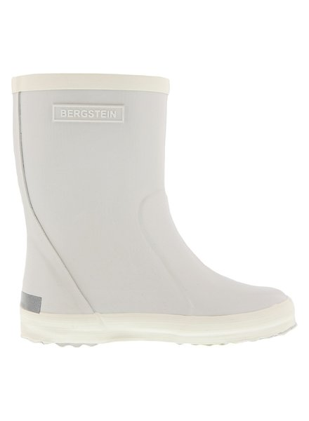 Bergstein flexible rain boot child - 100% natural rubber - stone grey  - 19 to 34