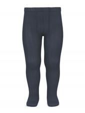 Condor katoenen maillot - brede rib - asfalt grijs - 50 tm 180 cm