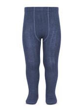 Condor katoenen maillot - brede rib - denim blauw  - 50 tm 180 cm