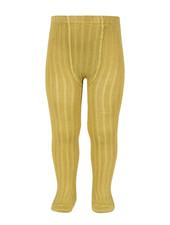 Condor katoenen maillot - brede rib - mosterd  - 50 tm 180 cm