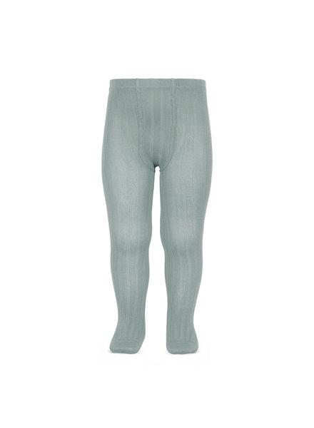 Condor katoenen maillot - brede rib - pale jade  - 50 tm 180 cm