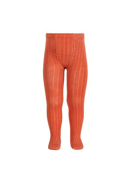 Condor katoenen maillot - brede rib - klei oranje - 50 tm 180 cm