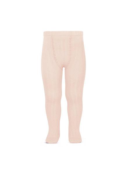 Condor cotton tights - wide-rib basic - nude - 50 to 180 cm