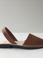 Pons  leren avarca sandaal dames PARIS - bruin - 35 tm 42