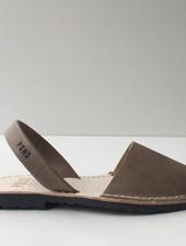 Pons  leren avarca sandaal dames PARIS - taupe - 35 tm 42