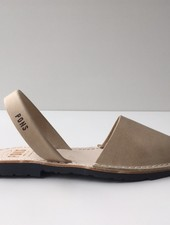 Pons  women avarca sandal PARIS -  sand leather - 35 to 42