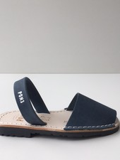 Pons  leren avarca sandaal kind DUNA - donker blauw - 26 tm 34