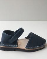 Pons  leren avarca sandaal kind BOSQUE - donker blauw - 22 tm 25