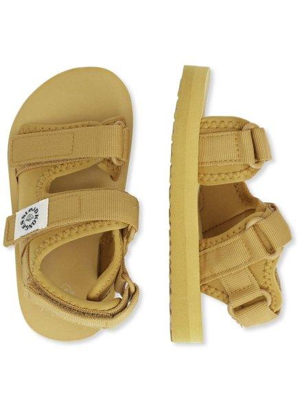 Konges Slojd water sandaaltjes SUN SANDAL - mosterd geel  - 22 tm 31