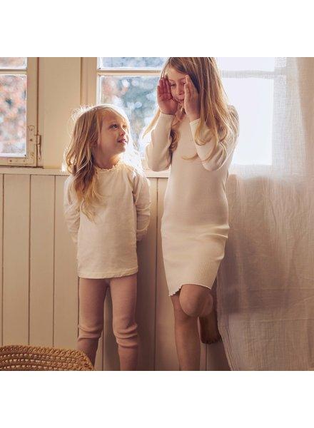 Minimalisma kinder shirt INGUNN - 100% biologisch  katoen -  milk - 2 tm 12 jaar