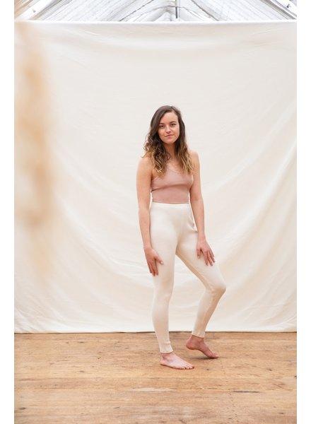 Matona basic women croptop - 97% organic jersey cotton/naturally  dyed– terra pink - xs to xxl