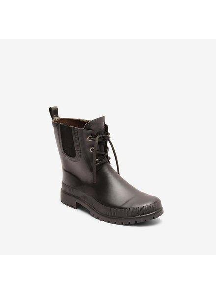 BISGAARD regenlaars dames RAIN - natuur rubber - zwart - 35 tm 41