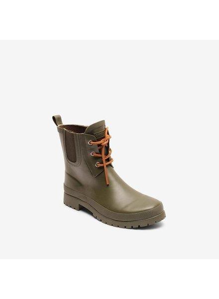 BISGAARD regenlaars dames RAIN - natuur rubber - groen - 35 tm 41