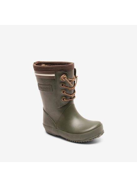 BISGAARD regenlaars kind en dames LACE THERMO - natuur rubber - groen - 24 tm 40