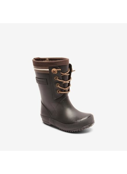 BISGAARD rainboot kids and women LACE THERMO - natural rubber- black - 24 to 40