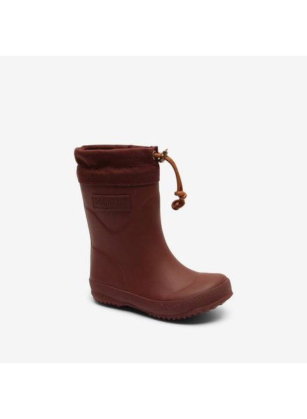 BISGAARD rain boots child and ladies THERMO - natural rubber - bordeaux - 21 to 40