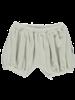Poudre Organic bloomer VERVEINE - short puff pants - 100% organic terry eponge cotton - almond white - 1m to 24m