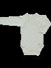 Poudre Organic baby newborn wrap romper LIERRE - 100% organic cotton - tan print - newborn up to 3 months