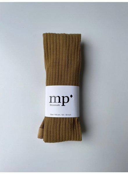 MP Denmark wollen maillot - brede rib - 80% merino wol - mosterdgeel - 90 tm 160