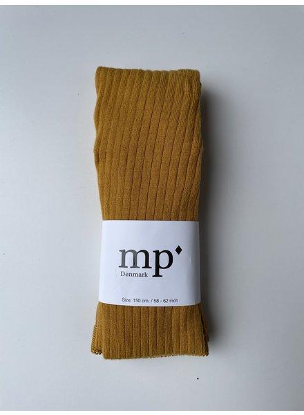 MP Denmark wollen maillot - brede rib - 80% merino wol - goud geel - 90 tm 160